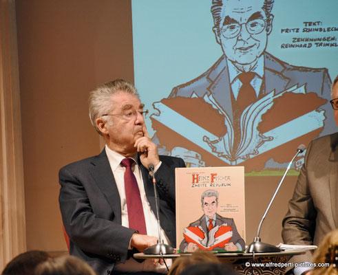 Buchpräsentation Heinz Fischer bei Thalia in Wien