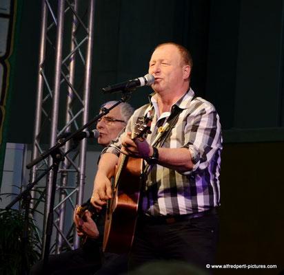 Harry Prünster und Band auf der Messe Lebenslust in Wien