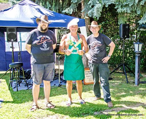 Teichfest in Oberrußbach mit ALFRED und ROMAN  und Wolfgang Schaffer