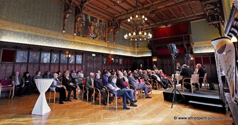 Zweite Pressestunde im Korneuburger Rathaus