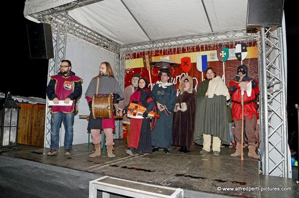 Eröffnung des Mittelalteradvents in Korneuburg 2015
