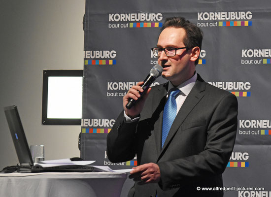 Neujahrsempfang der Korneuburger Wirtschaft in der Bundeshandelsakademie Korneuburg.
