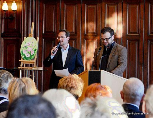 Andreas Minnich und Florian Koller - Vernissage 11. Korneuburger Kunstkilometer im Korneuburger Rathaus