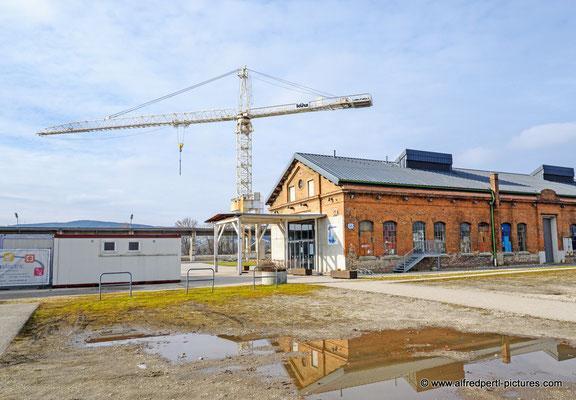 Gelände der ehemaligen Schiffswerft in Korneuburg