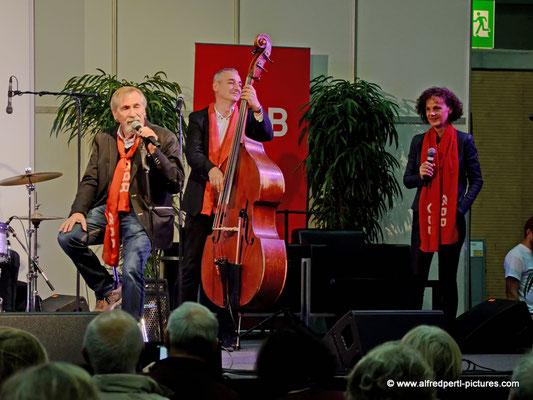 Peter Rapp und Band bei der Messe Lebenslust in Wien