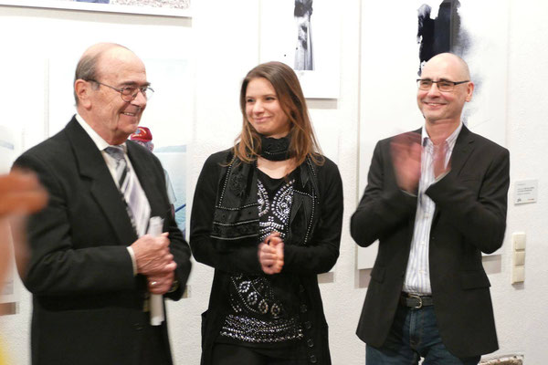 Stellvertretender Bürgermeister Sokrates Theodoridis, Jennifer Wolf, Axel Wendelberger
