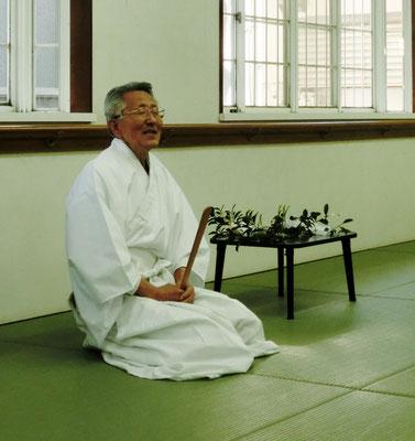 靖国神社権宮司 坂様のお言葉を頂いています。