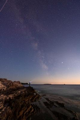 Unter den Sternen am Mittenmeer / Kroatien (Bildnummer 90904_7390)