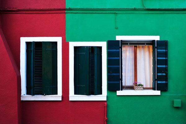 Kontraste in Burano / Italien (Bildnummer 20110818_9111 )