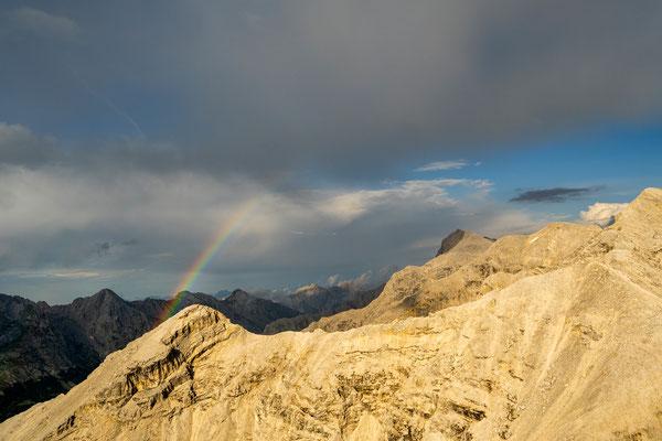 Regenbogen am Angerkopf (2232m)