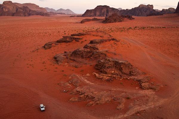 Felswüste Wadi Rum / Jordanien (Bildnummer 101010_3264)