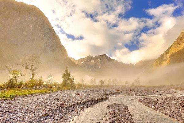 Bachlauf im Karwendel / Österreich (Bildnummer 2752_48)