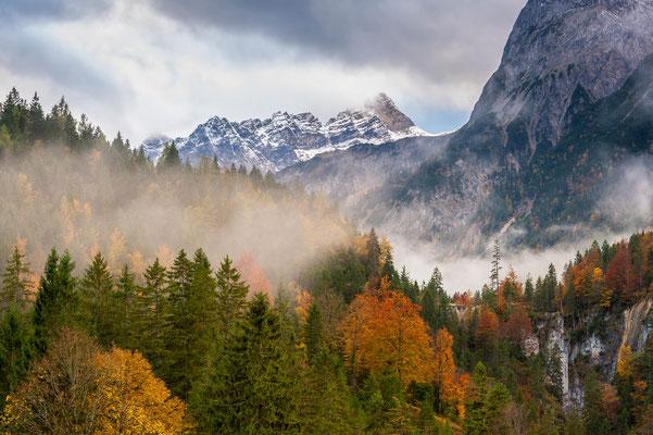 Herbst im Karwendel / Österreich (Bildnummer 7000876)
