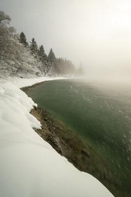 Nebel am Walchensee