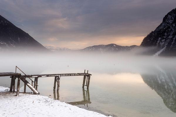 Steg am Ufer des Achensee (Bildnummer 811298)
