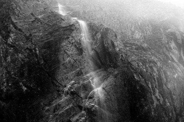 Kleiner Wasserfall am Gramaihochleger I