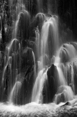Wasserfalldetail in den Catlins / Neuseeland (Bildnummer 9143)
