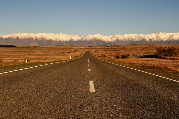Unterwegs nach Mt. Cook / Neuseeland (Bildnummer 6604)