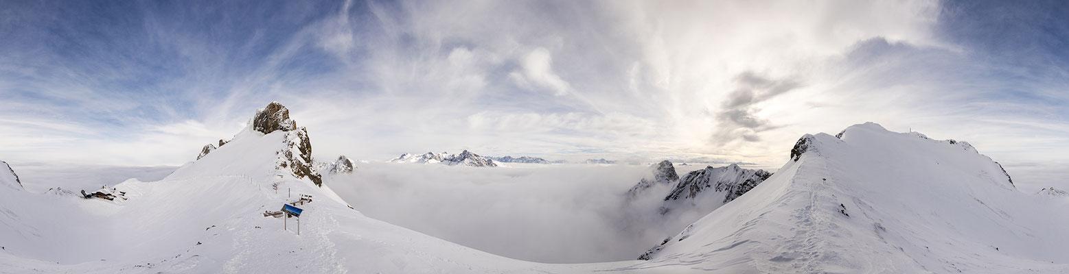 Winter an der westl. Karwendelspitze / Deutschland (Bildnummer 180222)