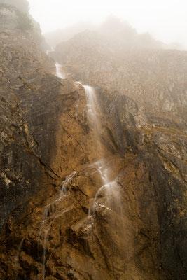 Kleiner Wasserfall am Gramaihochleger III