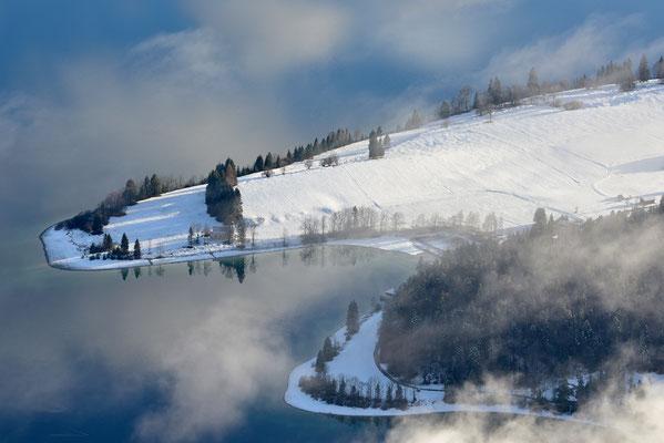 Halbinsel Zwergern am Walchensee / Deutschland (Bildnummer 754840)