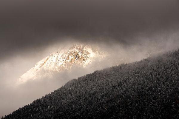 Abendlicht am Wörner im Karwendel (Bildnummer 8235)