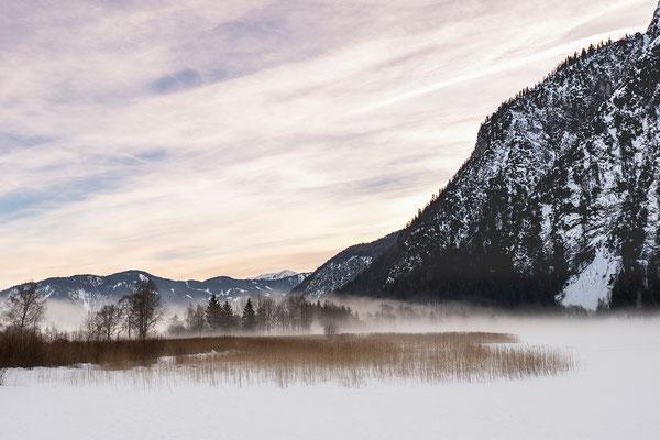 Abendstimmung mit Nebel am Achensee (Bildnummer 811255)