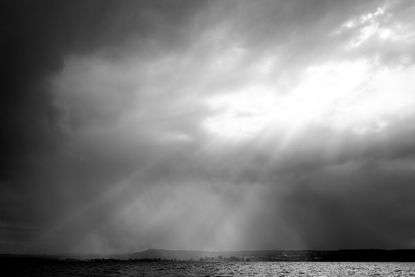 Unwetter am Ammersee