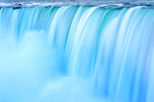 Langzeitbelichtung an den Niagara Wasserfällen 2 / Kanada (Bildnummer 1467)