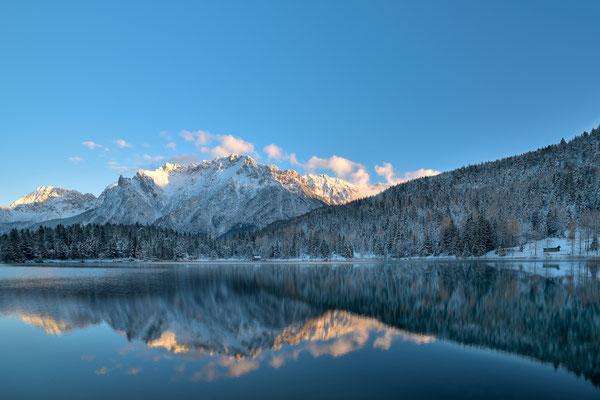 Winterlicher Lautersee / Deutschland (Bildnummer 751889)