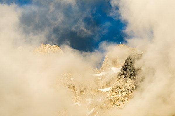 Wetterstimmung im westlichen Karwendel, oberhalb von Mittenwald / Deutschland (Bildnummer 170604_0269)