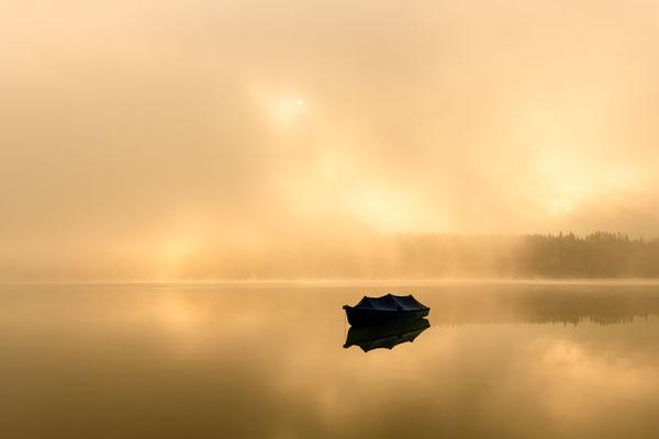 Nebelstimmung im Karwendel III