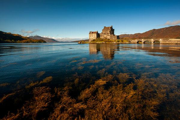 Eilean Donan Castle am Loch Duich / Schottland (Bildnummer 111002_0820)