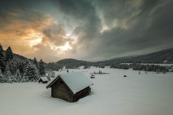 Winter am Geroldsee / Deutschland (Bildnummer 1562)