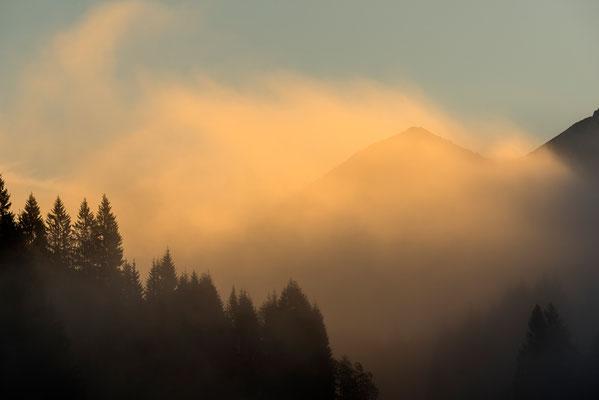 Lichtstimmung im Karwendel, Im Hintergrund die Soierngruppe / Deutschland (Bildnummer 8045)