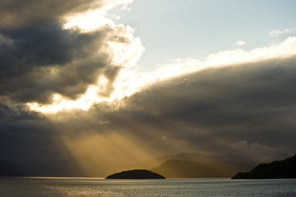 Insel im Spotlicht / Neuseeland (Bildnummer 8126)