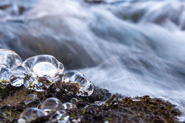 Eisdiamanten am Rissbach