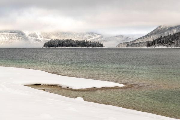 Winterstimmung am Walchensee