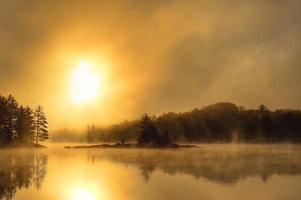 Sonnenaufgang im Killarney Nationalpark / Kanada (Bildnummer 120925_2200)