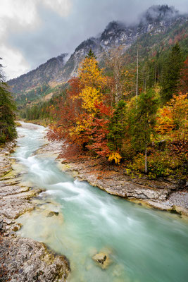 Herbstfarben am Rissbach 2