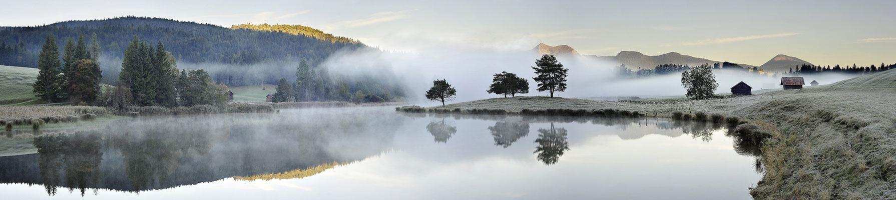 Nebelstimmung am Schmalensee / Deutschland (Bildnummer 150929)