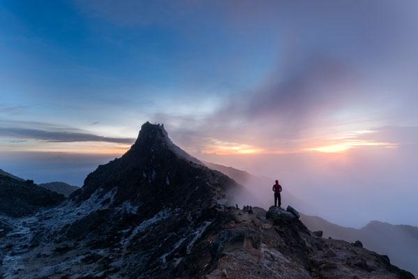 Sonnenaufgang auf dem Mt. Sibayak (2212m) / Indonesien (Bildnummer 754533)