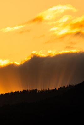 Sonnenstrahlen im Estergebirge II