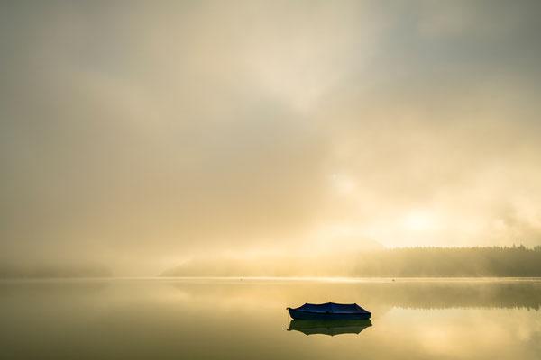 Nebelstimmung im Karwendel II