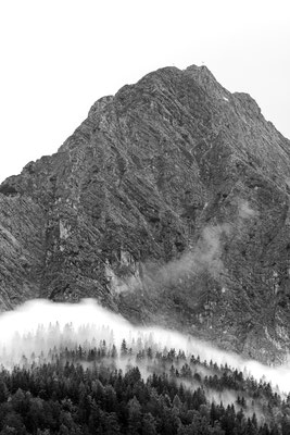 Nebel am Fransozensteig / Mittenwald