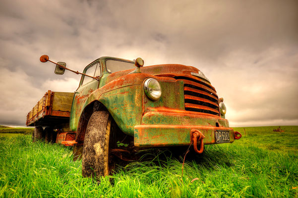 Alter Truck / Neuseeland (Bildnummer 9235_6)