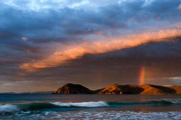 Regenbogen in Coromandel / Neuseeland (Bildnummer 0963)
