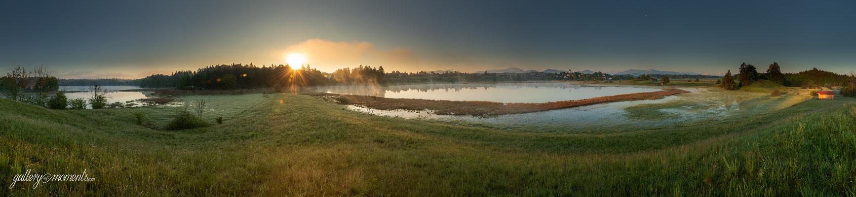 Sonnenaufgang an den Osterseen