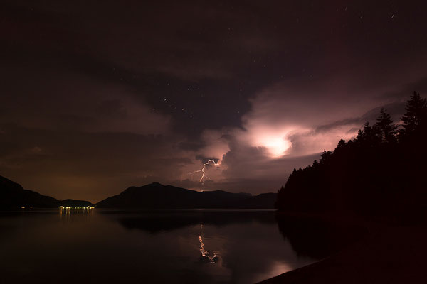 Gewitterstimmung am Walchensee / Deutschland (Bildnummer 170620_0973)