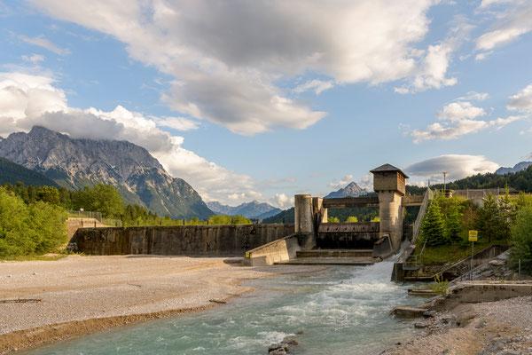 Das Wasserkraftwerk Krün